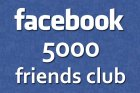 facebook 5000 friends club